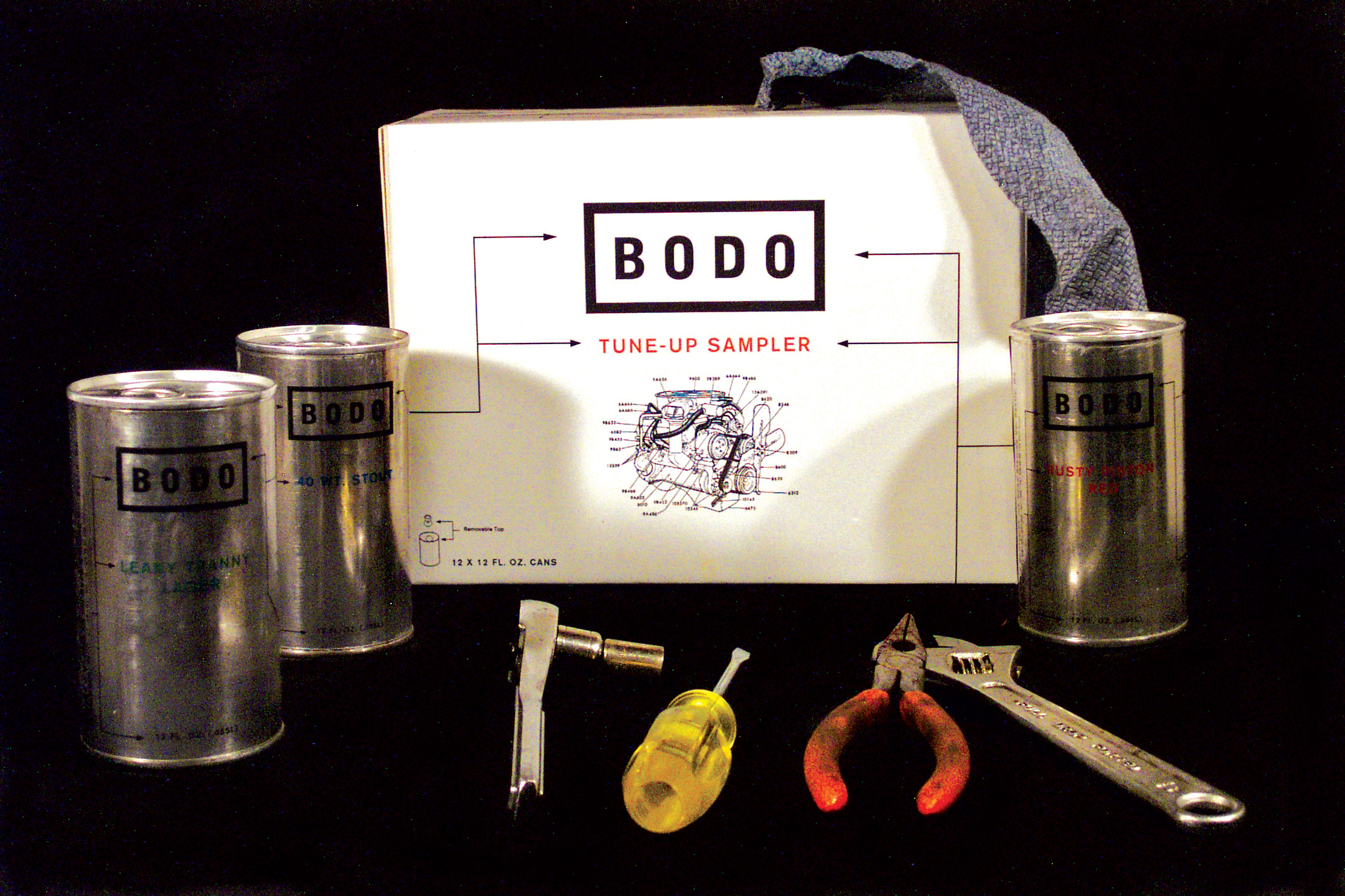 Bodo Beer Packaging box