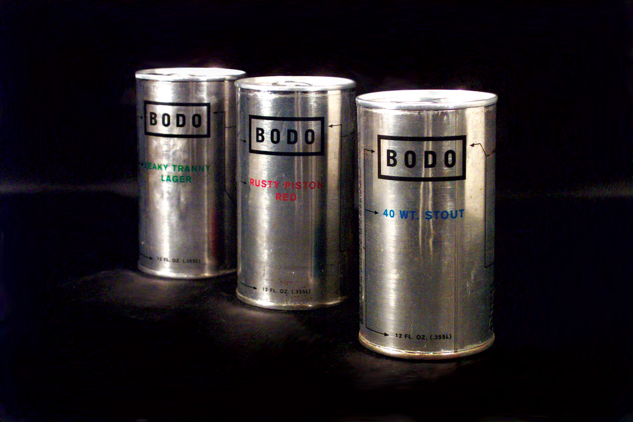 Bodo Beer Packaging