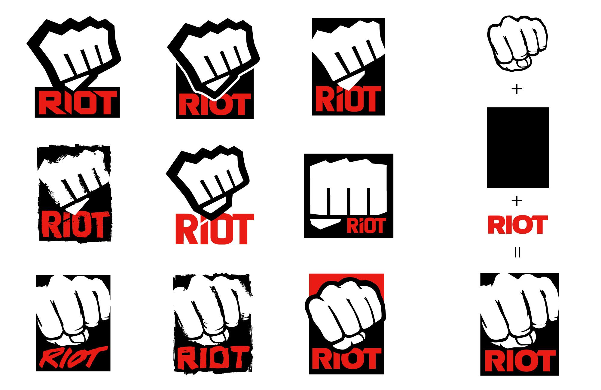Riot Logo studies